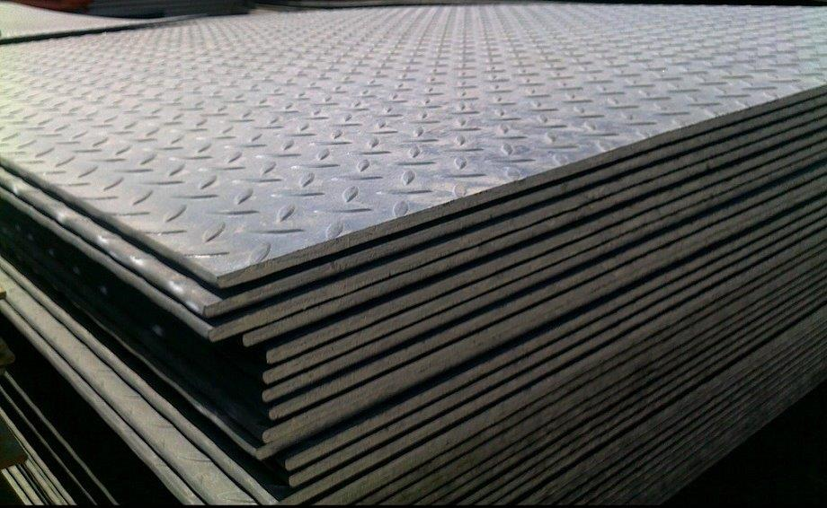High-Quality Steel Sheet Floor Plates: Shipped Nationwide | Center Steel Sales - checkered-plates
